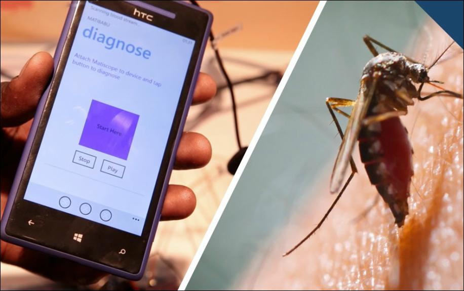 Matibabu, il test della malaria via smartphone e senza prelievo