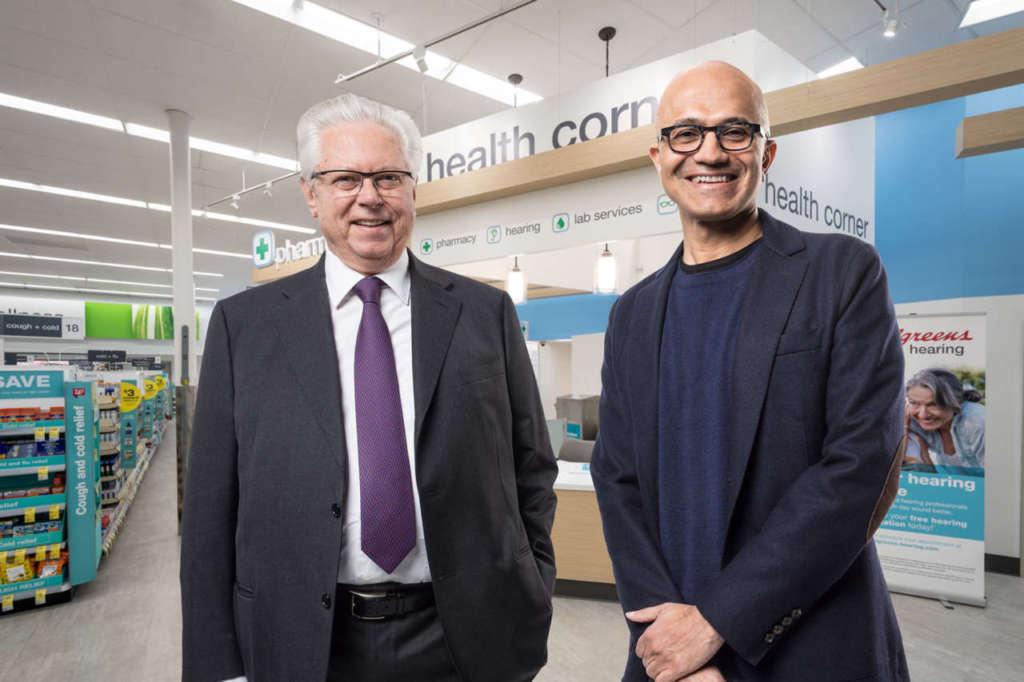 Microsoft e Walgreens Boots Alliance unite per un nuovo retail sanitario