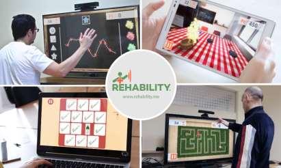 Rehability, il gioco entra nella terapia riabilitativa