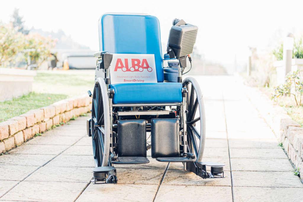 Alba, la carrozzina diventa autonoma e smart
