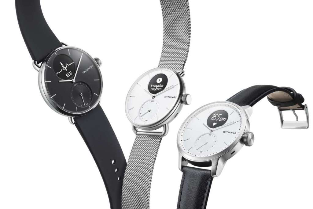 CES 2020: Withings ScanWatch, con ECG e monitoraggio del sonno