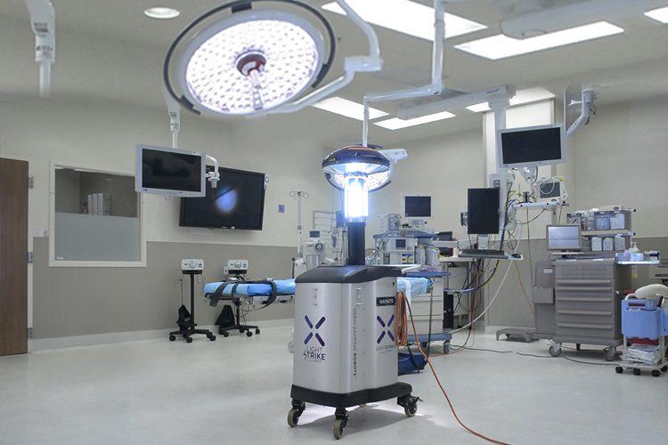 Xenex, sanificazione anti Covid-19 ad ampio raggio