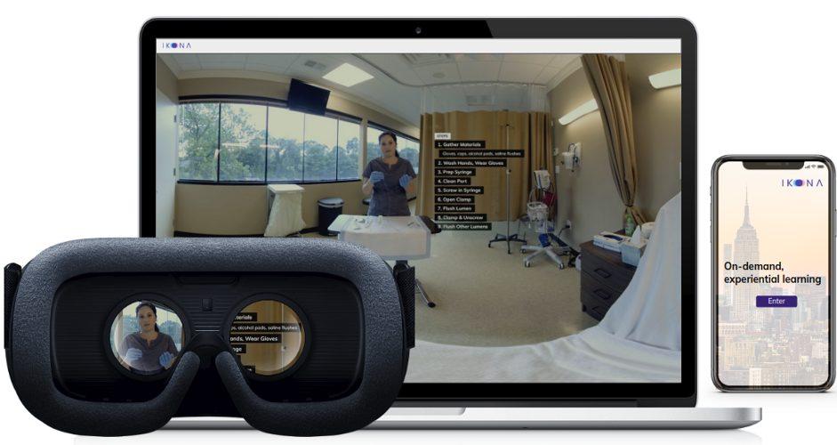 Dal diabete al Covid-19, la realtà virtuale di Ikona cura a casa