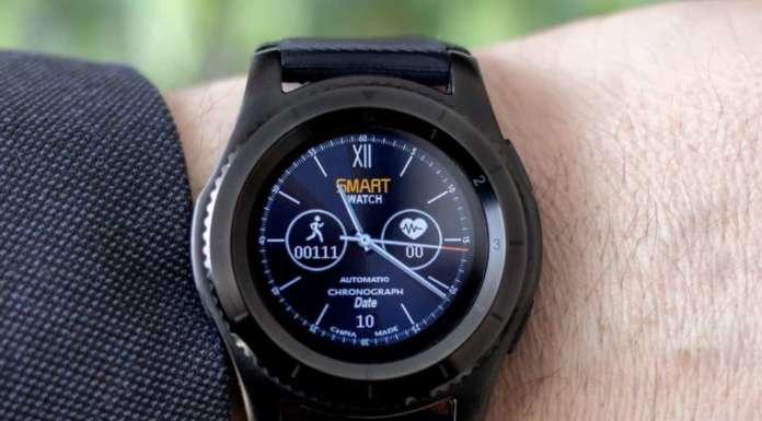 Uno smartwatch per il benessere dell'anziano
