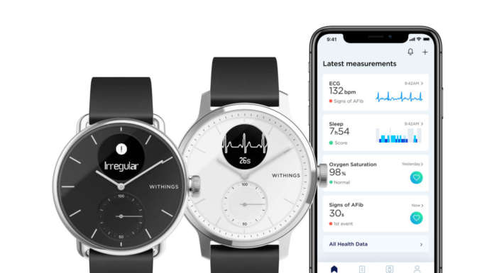 Withings ScanWatch, lo smartwatch ibrido con ECG è disponibile in Europa