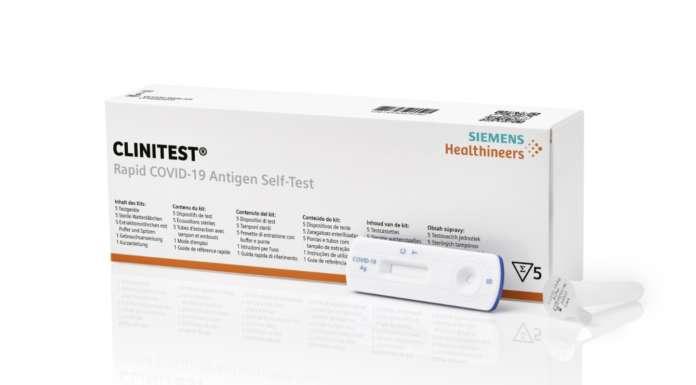 Covid-19, pronto l'autotest antigenico di Siemens Healthineers